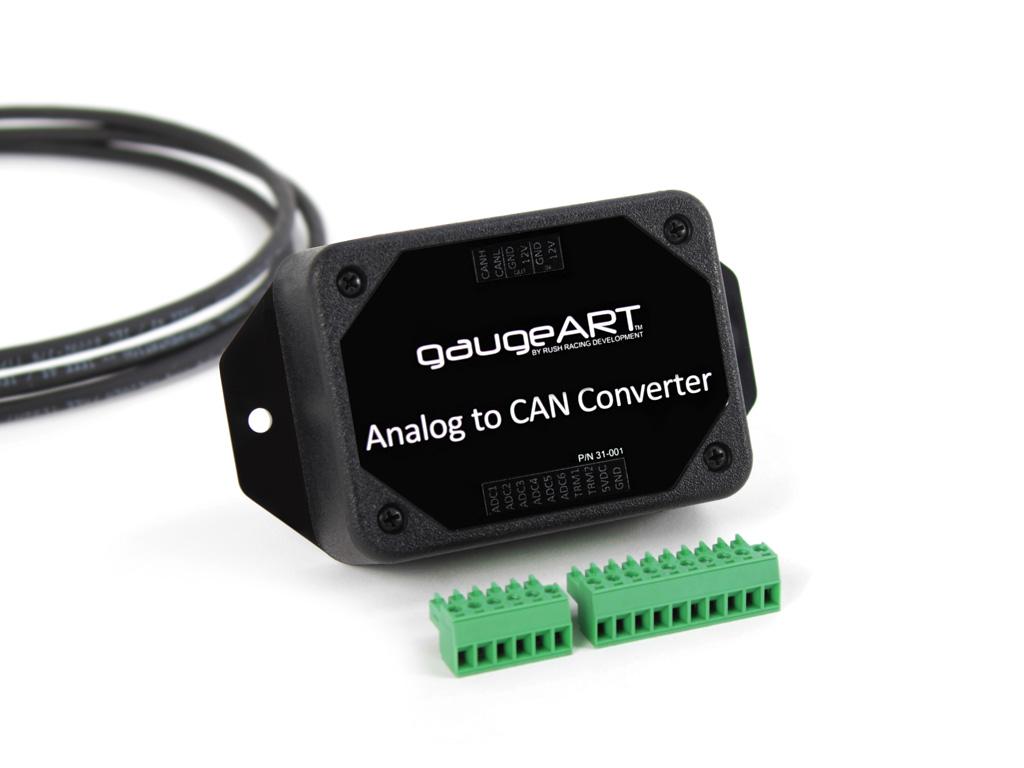 Gaugeart Analog To Can Converter Gaugeart